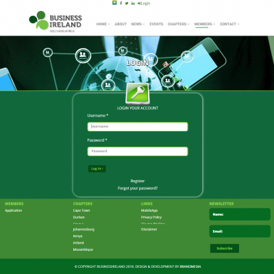 Business Ireland Login
